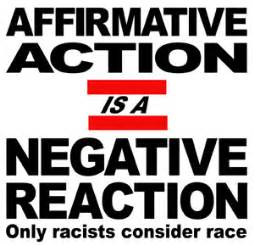 Support affirmative action essay